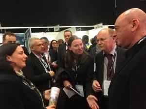 Делегация министерства строительства и ЖКХ Российской Федерации на международной выставке-конференции BIM World 2016