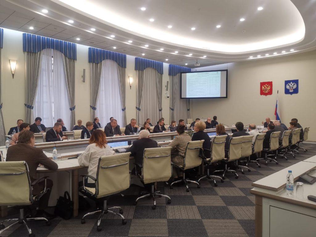 В Минстрое России прошло очное заседание ПК 5 ТК 465